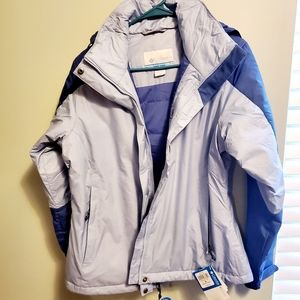 COLUMBIA Womens Insulated Water Resistant Coat NWT